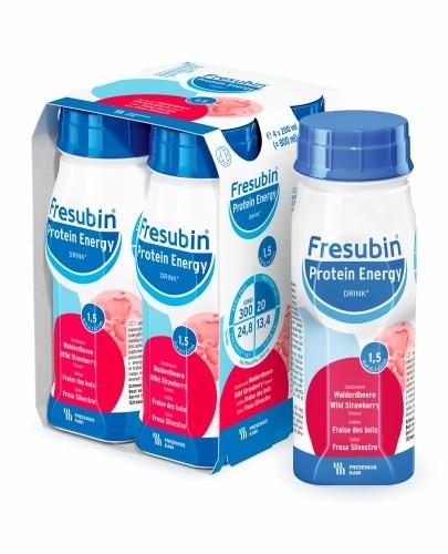 Fresubin Protein Energy DRINK (Poziomka) 4x200 ml - Fresubin
