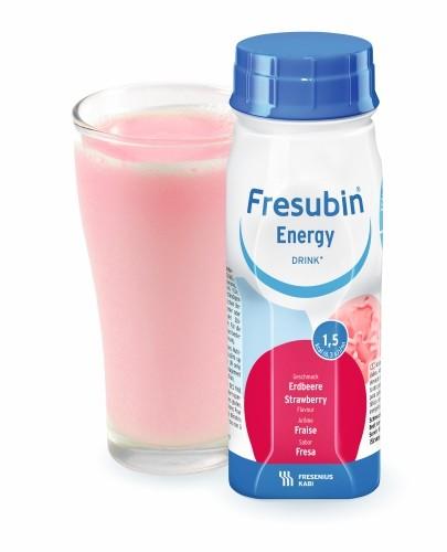 Fresubin Energy DRINK (Truskawka) 4x200 ml - Fresubin
