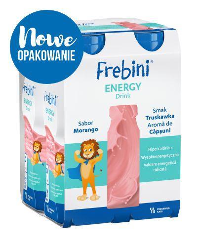 Frebini Energy DRINK (Truskawka) 4x200 ml  - Sklep Fresubin