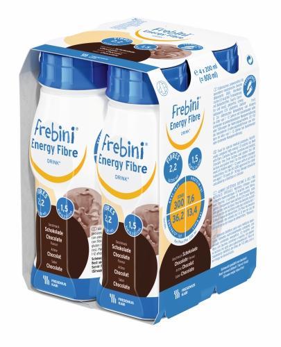 Frebini Energy Fibre DRINK (Czekolada) 4x200 ml - Sklep Fresubin