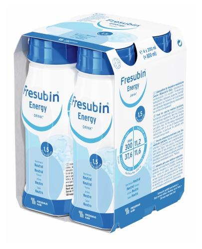 Fresubin Energy DRINK (Neutralny) 4x200 ml - Sklep Fresubin