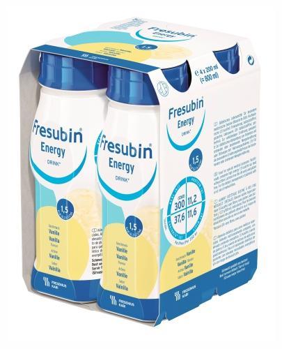 Fresubin Energy DRINK (Wanilia) 4x200 ml - Sklep Fresubin