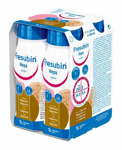 Fresubin Hepa (Cappuccino) 4x200 ml - Sklep Fresubin