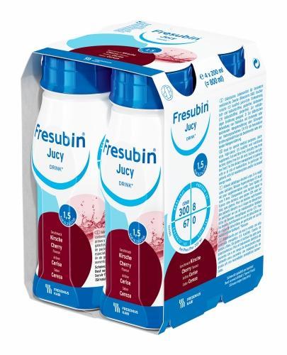 Fresubin Jucy DRINK (Wiśnia) 4x200 ml - Sklep Fresubin