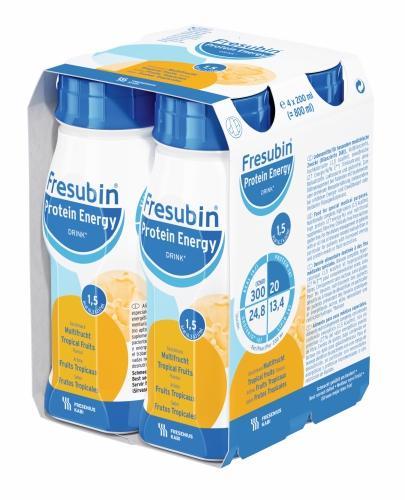Fresubin Protein Energy DRINK (Owoce tropikalne) 4x200 ml - Sklep Fresubin