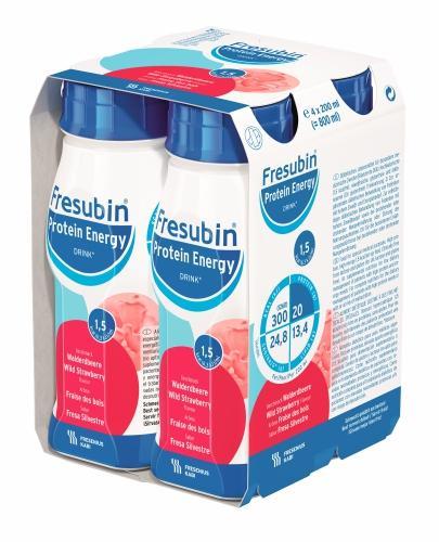Fresubin Protein Energy DRINK (Poziomka) 4x200 ml - Sklep Fresubin