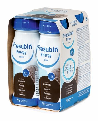 Fresubin Energy DRINK (Czekolada) 4x200 ml - Sklep HUMANA